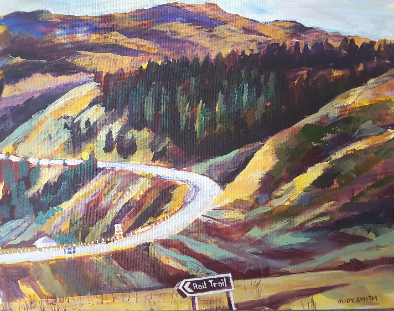 Beginning of the Cromwell Gorge -solo exhibition -