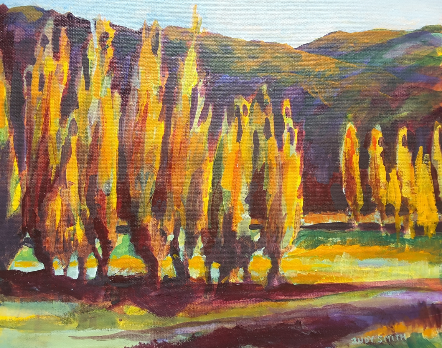 Poplar Trees -solo exhibition -