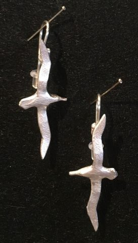 Albatross earrings