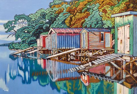Rocky Point, Waiheke -  small print