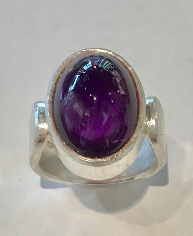 Amethyst Ring (5945)