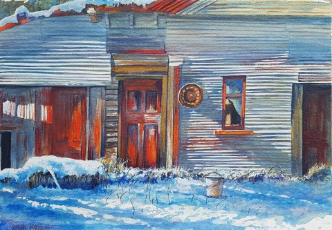Basil's Stables, June Snow - solo exhibition