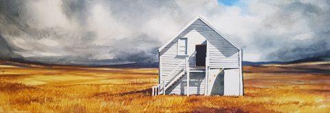 White Barn -solo exhibition