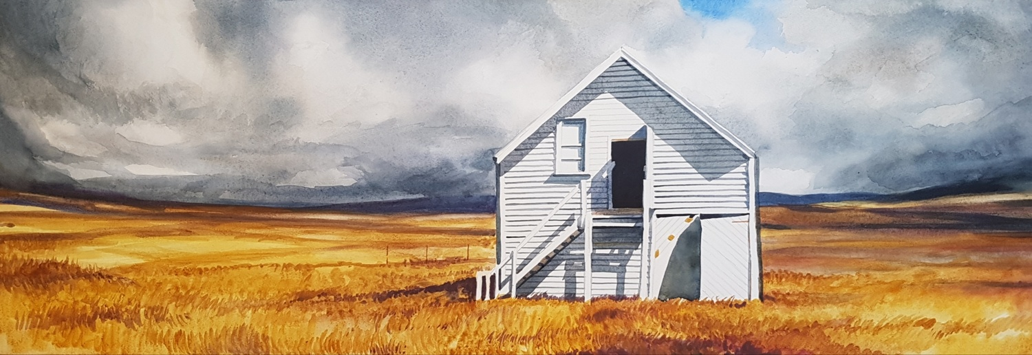 White Barn -solo exhibition