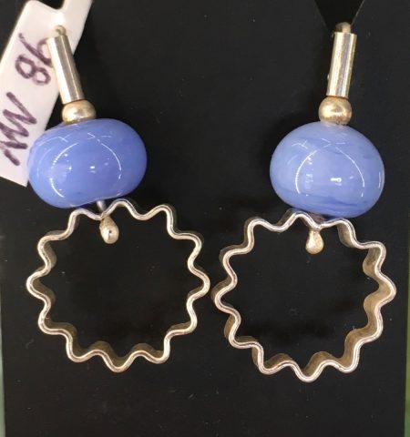 Corrugated Hoopla earrings