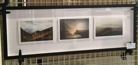 Washi Triptych