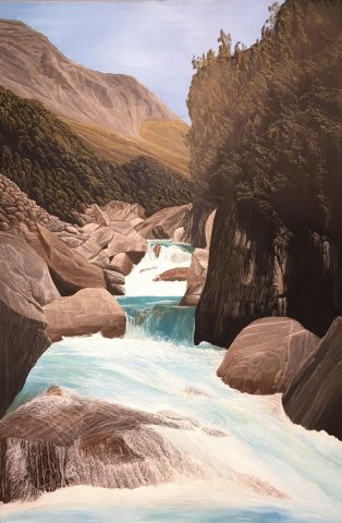 Wild Water - Whitcomb, Westland - Timeless Vistas Solo Exhibition