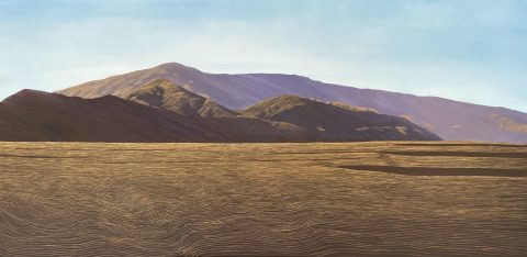 Afternoon Shadows, Dunstan Range - Timeless Vistas Solo Exhibition
