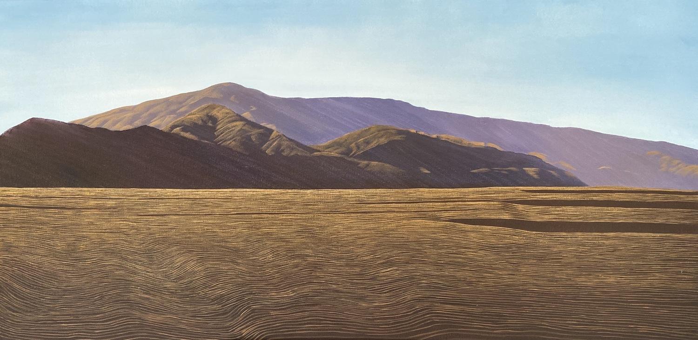 Afternoon Shadows, Dunstan Range - Timeless Vistas Solo Exhibition