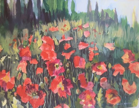 Central Poppies