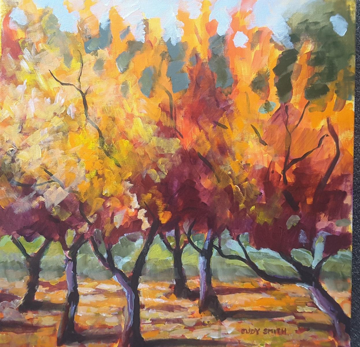 Autumn Fruit Trees