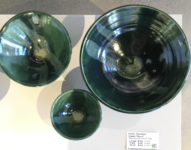 Green bowl -medium