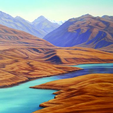 Lake–Alexandrina by Sheena Lassen