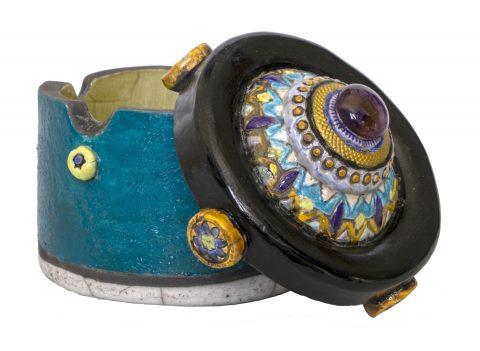 Mandala Series Lidded Box -