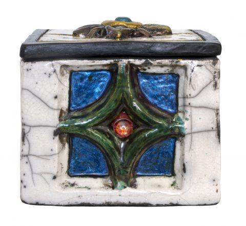 Cross Culture Series Lidded Box -