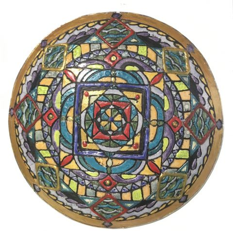 Mandala series wall disc