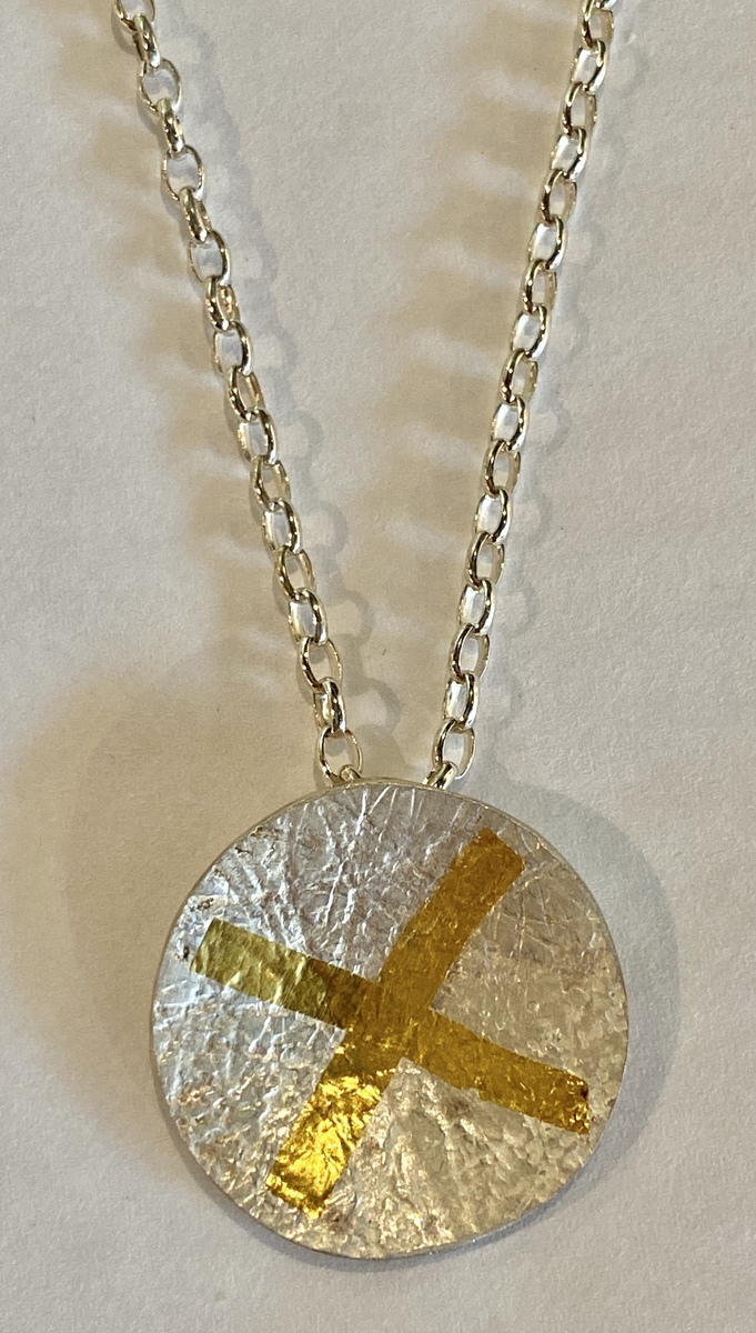 Domed circle Pendant