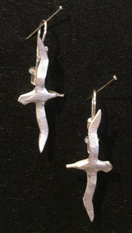 Albatross earrings