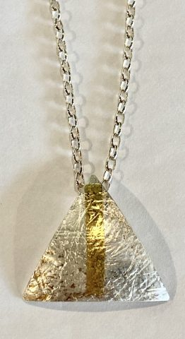 Domed triangle Pendant