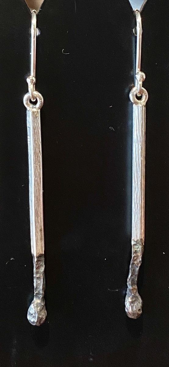 Burnt/Burnt earrings