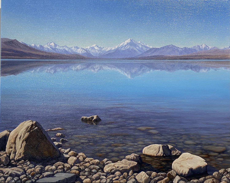 Rocky Shore, Lake Pukaki