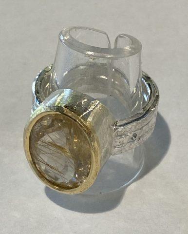 Rutile* Quartz (6211) *natural inclusions in the quartz