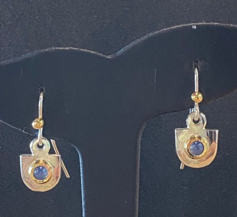 Citrine earrings (6218)