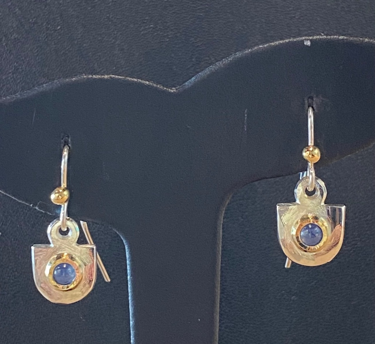 Citrine earrings (6218)