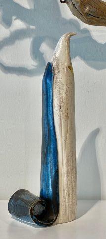 Bird Totem - Dark Blue Cloak