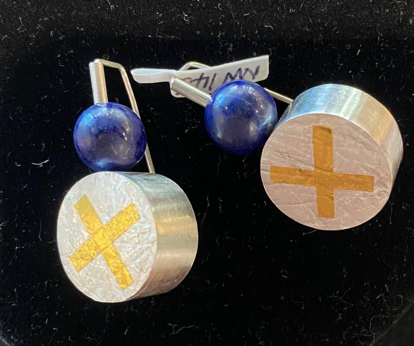 Large Drum earrings
