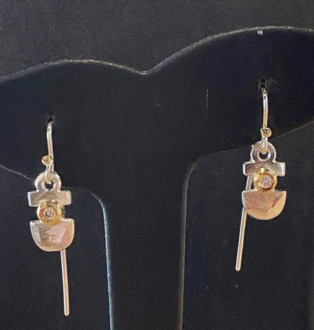 Diamond earrings (6232)