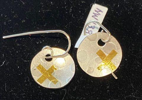 Spotty Dome earrings