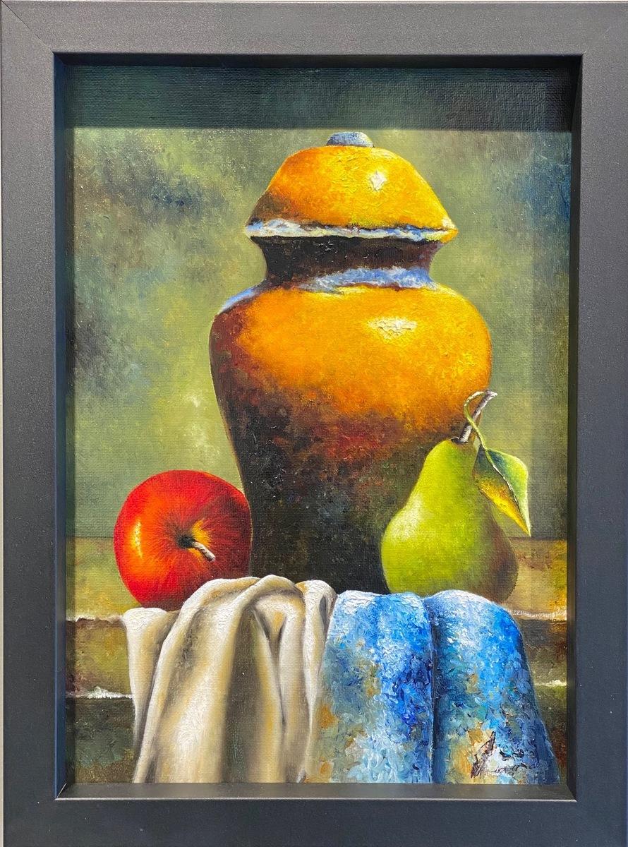 Pot with Fruit