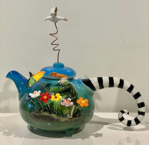 Teapot - with Seagull