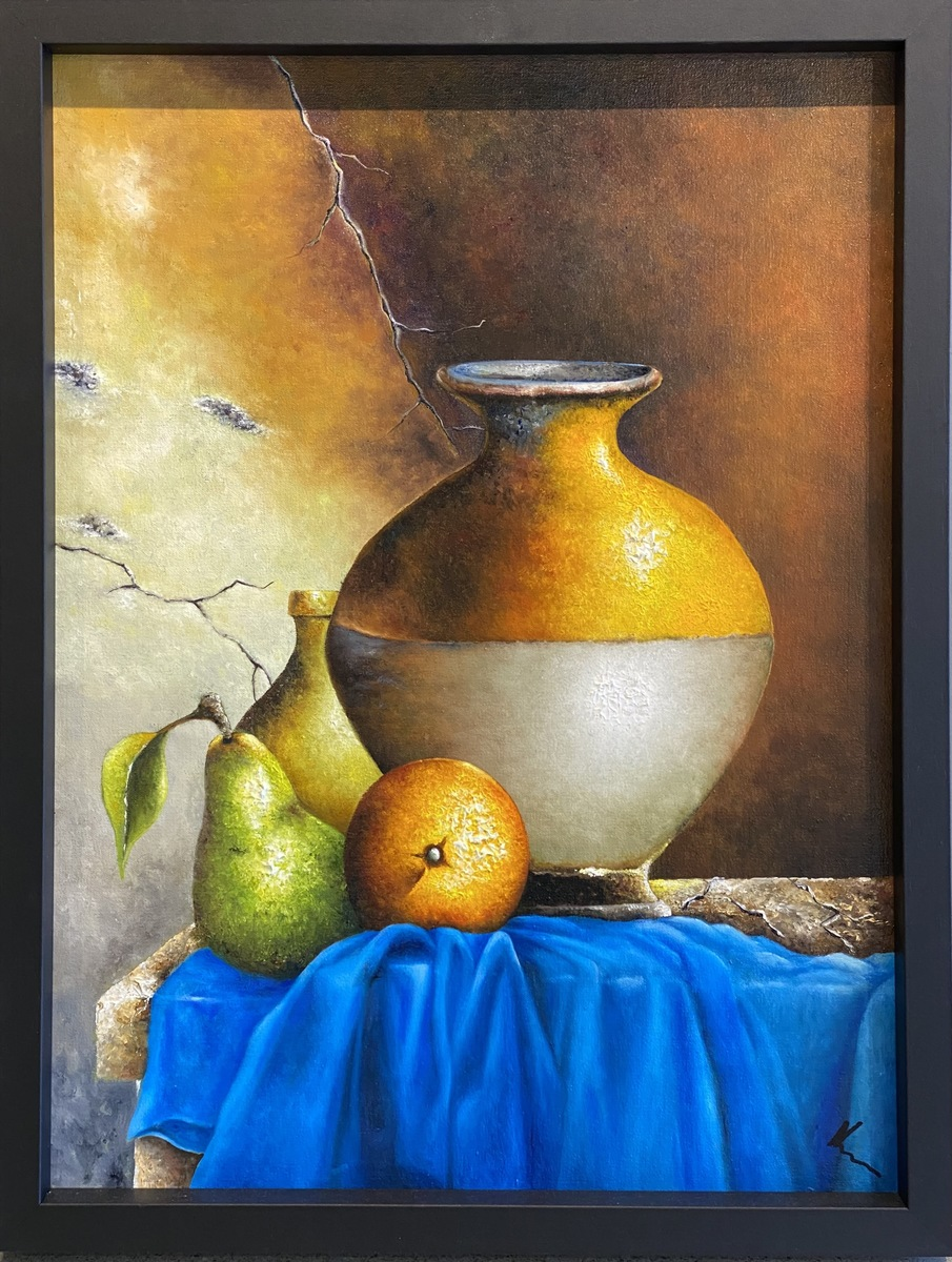 Jar with Fruit
