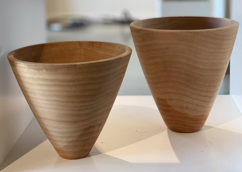 Beech Bowl - 18cm high