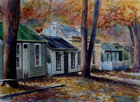 Late Autumn Hues, Arrowtown