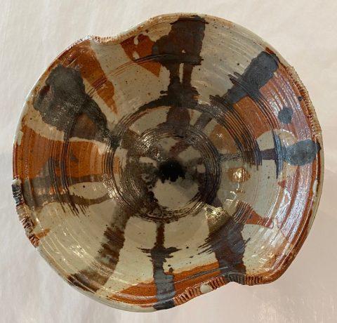 Shino bowl - 24cm dia.