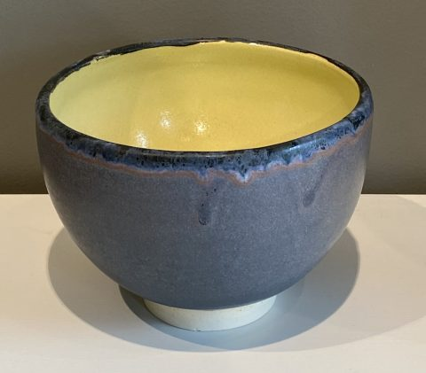 small Stoneware bowl (green internal)