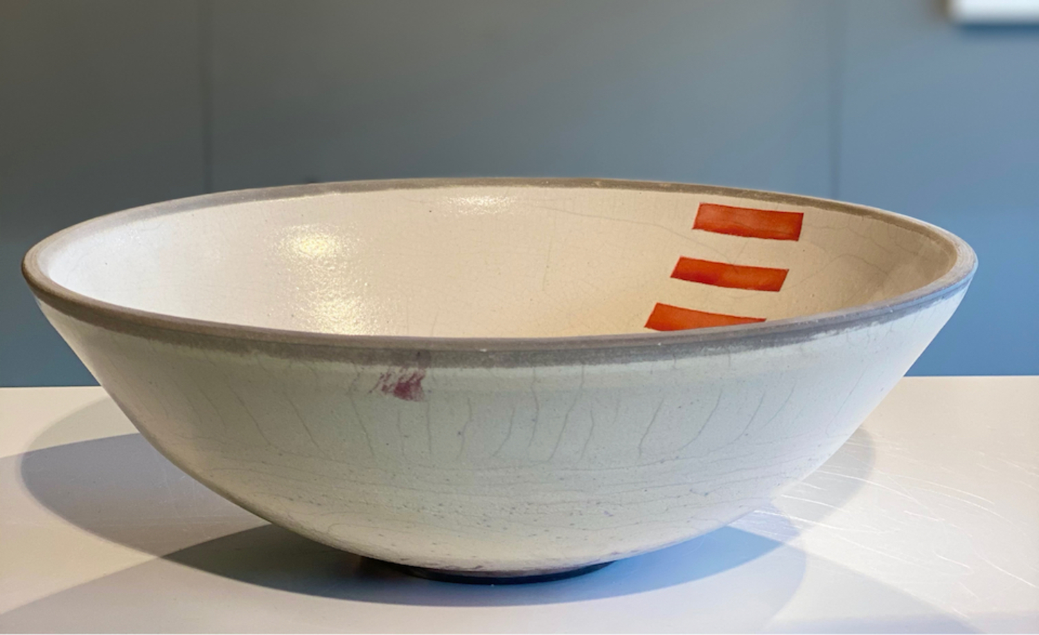 Bowl with Red