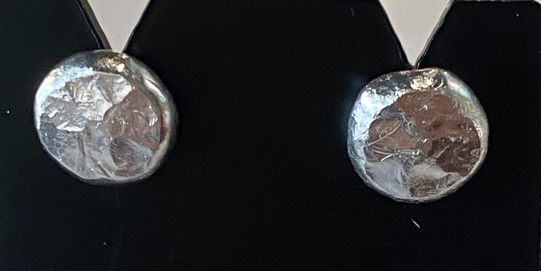 Fine silver studs