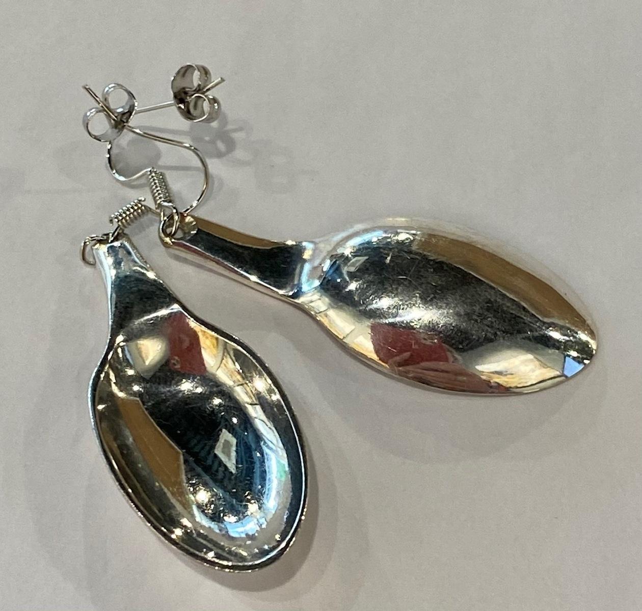 Spoon Earrings - medium
