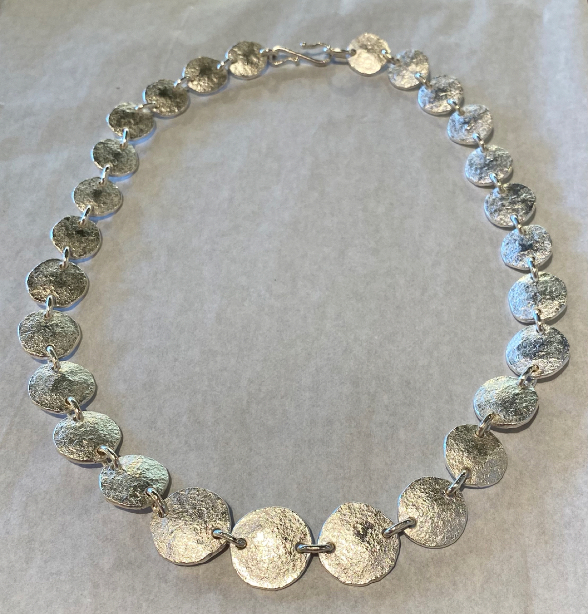 Sterling silver and Fine Silver necklace