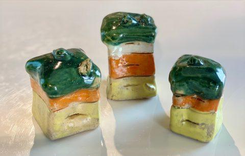 Mini Beehives - set of 3