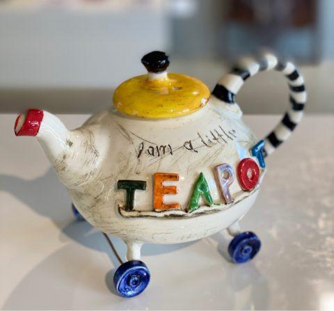 Teapot - I'm a Little Teapot - on wheels